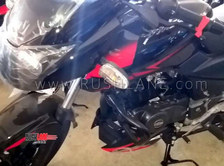 Bajaj Pulsar 150 Twin Disc Abs Spied Left Side