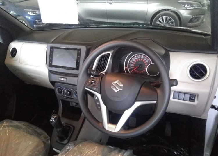 2019 Maruti Wagon R Interior Spy Shot