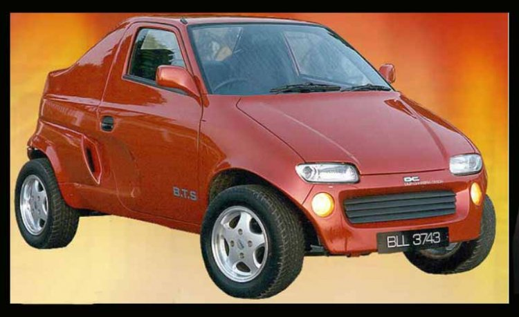 Dc Modified Maruti 800 Images Front Three Quarters