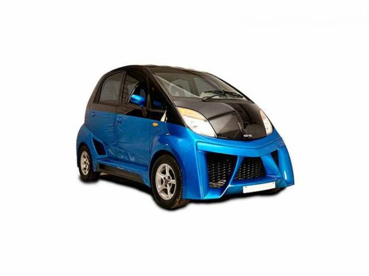 Dc Modified Tata Nano Images Front Three Quarters