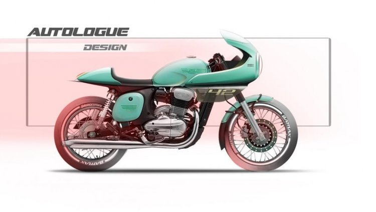 Jawa Cafe Racer By Autologue Designs