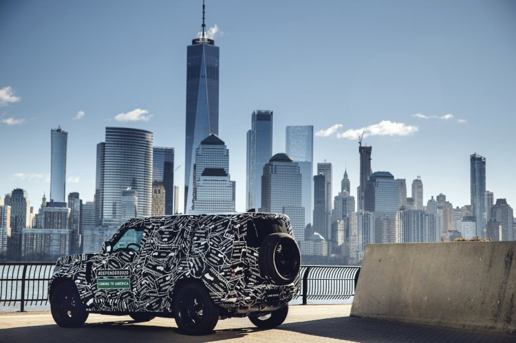 2020 Land Rover Defender Prototype Manhattan