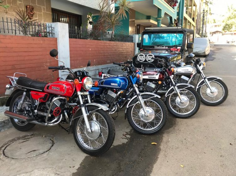 Yamaha Rd350 By R Deena From Mysore 1