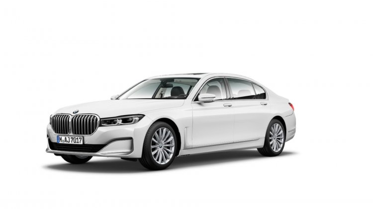 2019 Bmw 7 Series 750li Facelift Leaked Image