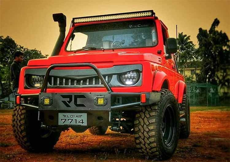 10 Stunningly Modified Examples Of Maruti Gypsy From