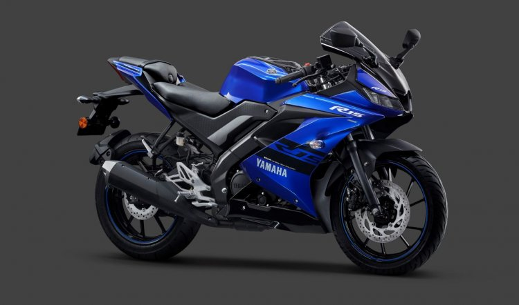 Yamaha Yzf R15 V3 0 Abs Racing Blue