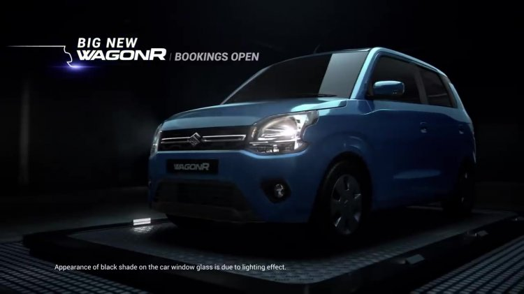 2019 Maruti Wagonr Front Three Quarters