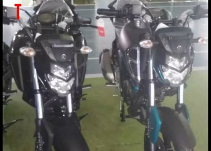 2019 Yamaha Fz S Spotted Ahead Of Launch Front