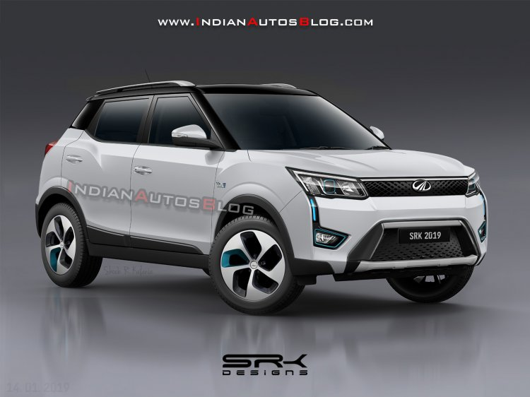 Mahindra Xuv300 Electric Rendering