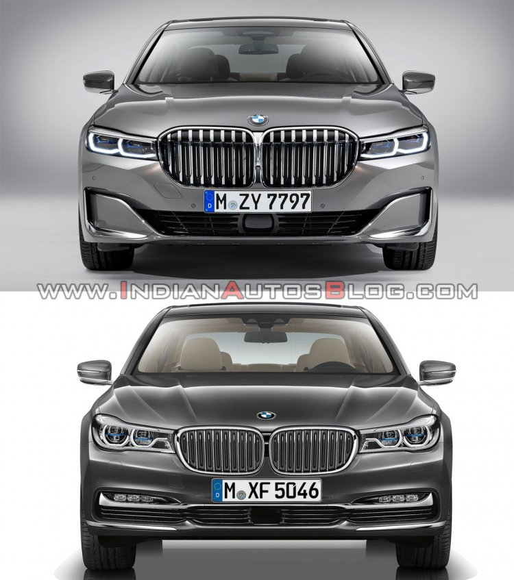 2019 Bmw 7 Series Vs 2016 Bmw 7 Series Front