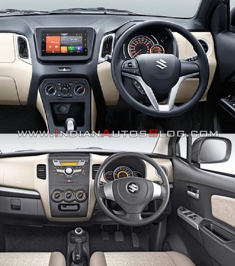 2019 Maruti Wagon R Vs 2013 Maruti Wagon R Interio