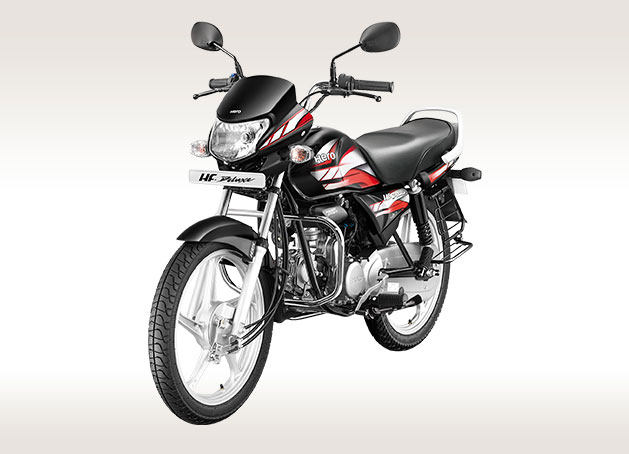 top-selling bikes in india Hero Hf Deluxe Ibs Left Front Quarter