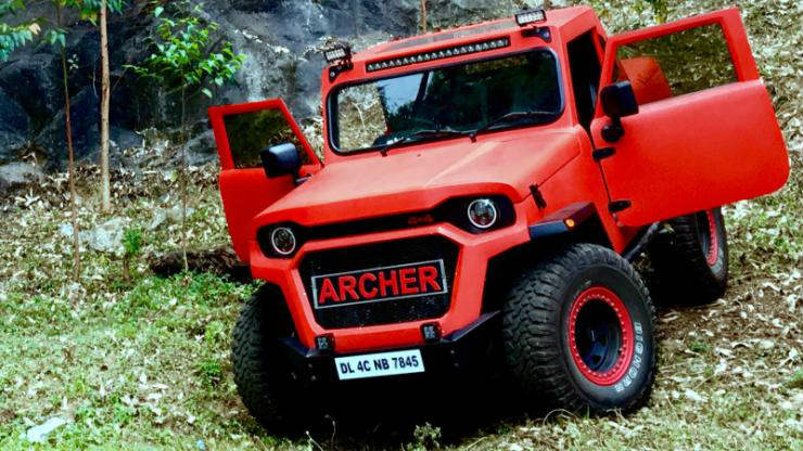 Mahindra Thar Modification Archer Hammer Images Fr