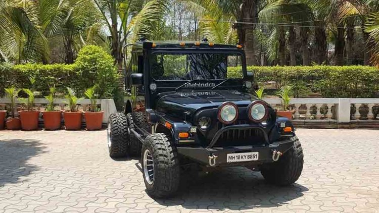 Mahindra Thar Modification Grizzly Customs Front T