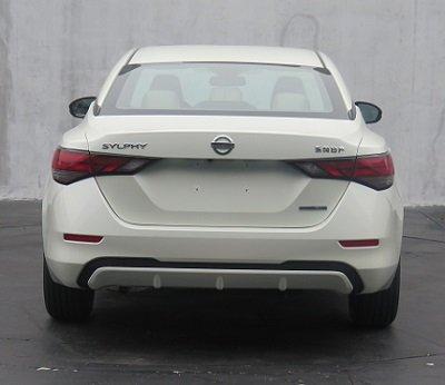 2020 Nissan Sentra 2019 Nissan Sylphy Rear