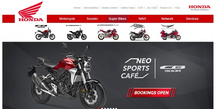 Honda Cbr650f Removed From India Website Screensho