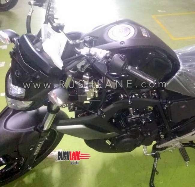 New Yamaha Fzs Spied Black Launch Price 2