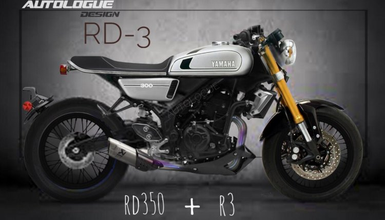 Yamaha Rd 3 Render By Autologue Design