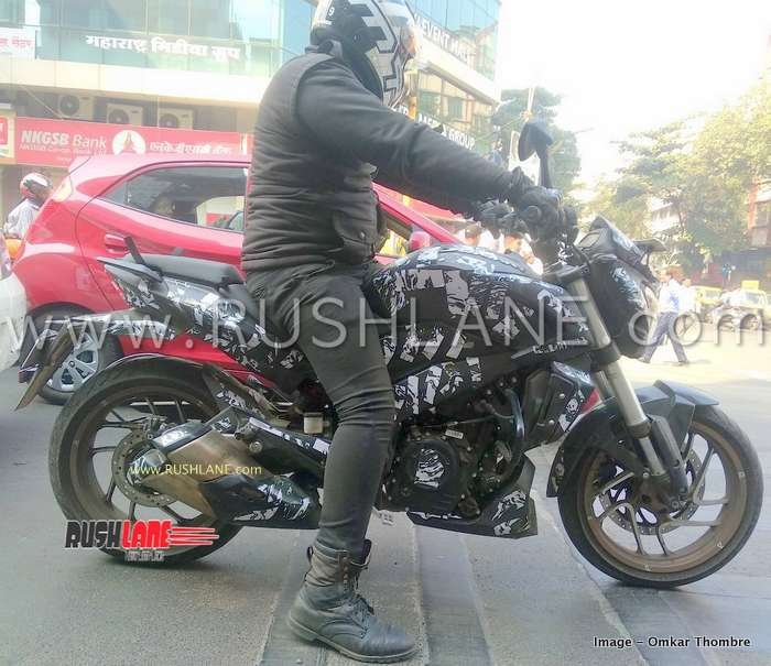 2019 Bajaj Dominar Spied Side Profile