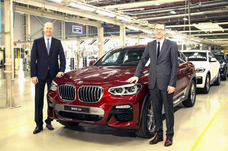 2019 Bmw X4 India Launch Images Front