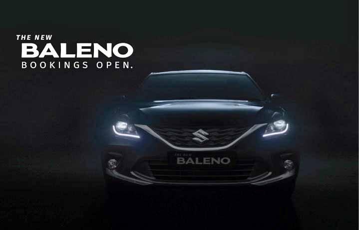 2019 Maruti Baleno Facelift Teaser Image Front