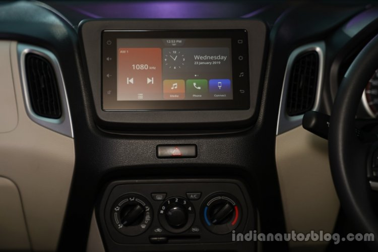 2019 Maruti Wagon R Images Smartplay Studio Touchs