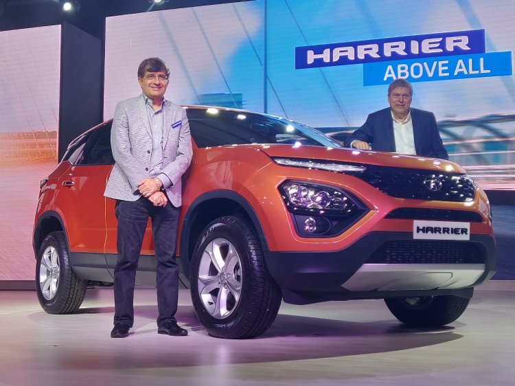 Tata Harrier Launch Image