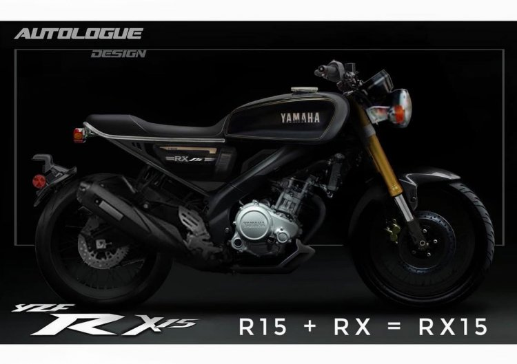 Yamaha Rx15 Render By Autologue Design Right Side