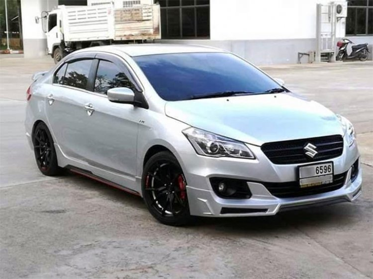 Modified Maruti Suzuki Ciaz Front Three Quarters T