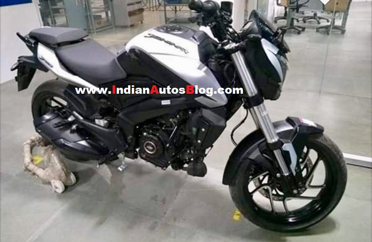 2019 Bajaj Dominar 400 White Colour Spied Side Pro