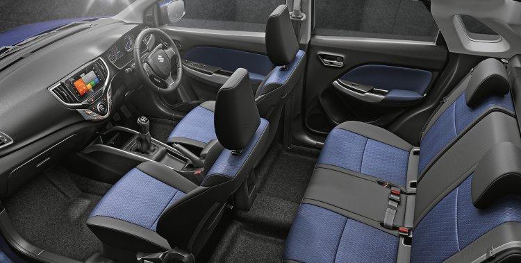 2019 Maruti Baleno Facelift Interior Cabin