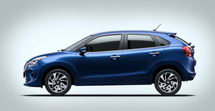 2019 Maruti Baleno Facelift Left Side