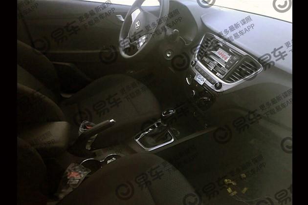 Hyundai Verna 1 4l Cvt Interior Spy Shot