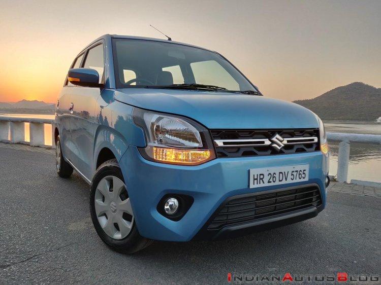2019 Maruti Wagon R Review Images Front Three Quar