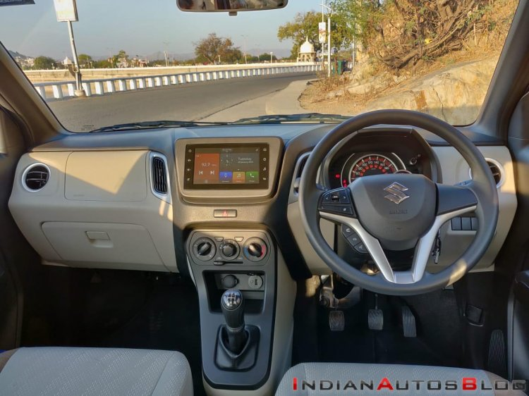 2019 Maruti Wagon R Review Images Interior Dashboa