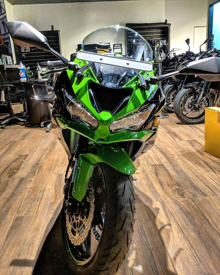 Kawasaki Ninja Zx 6r Arrives At Dealerships In India