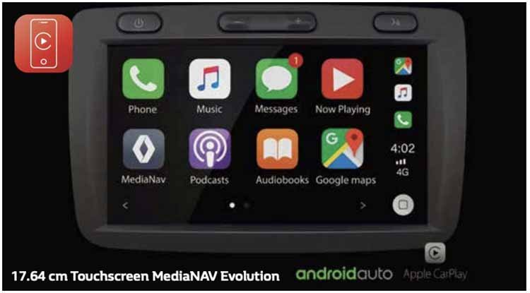 2019 Renault Kwid Touchscreen Infotainment Unit Im