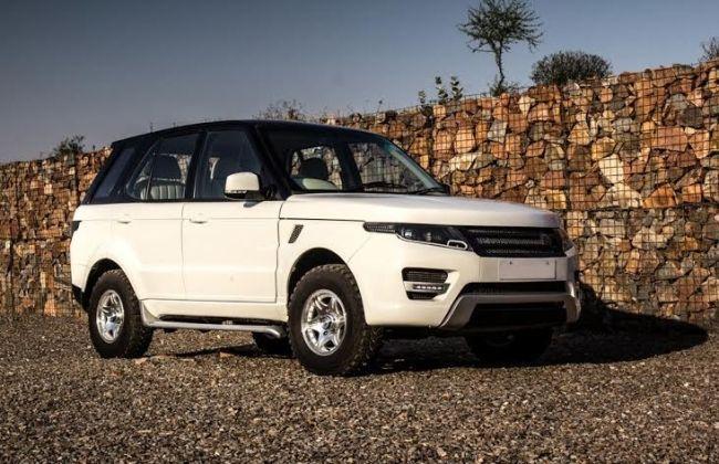 Modified Tata Safari Moonrover Big Daddy Customs