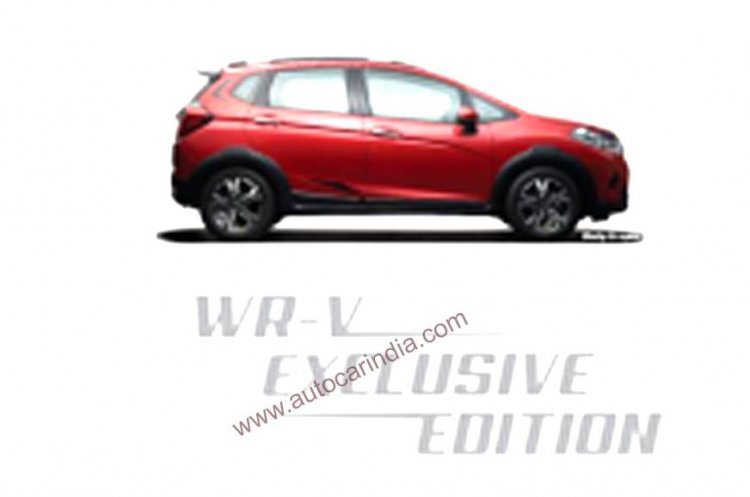 Honda Wr V Exclusive Edition