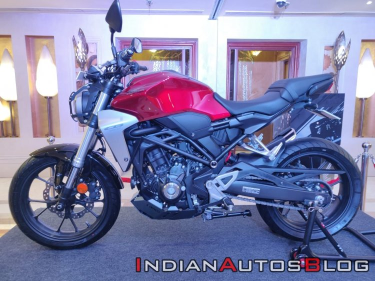 2019 Honda Cb300r India Launch Candy Chromosphere