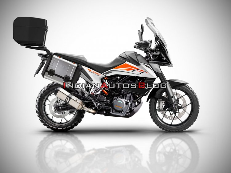 Ktm 390 Adventure With Accessories Watermarked