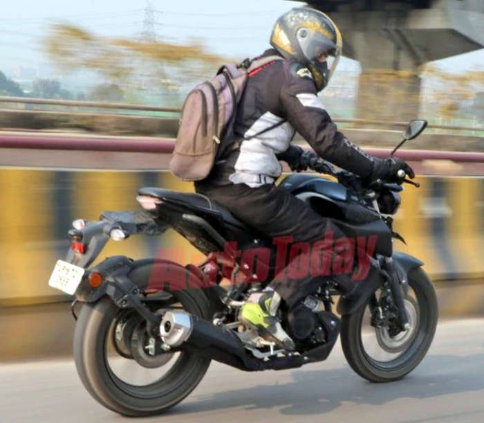 2019 Yamaha Mt 15 Spied Testing Rear Quarter