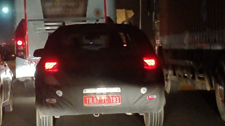 Hyundai Styx Hyundai Qxi Spy Shot