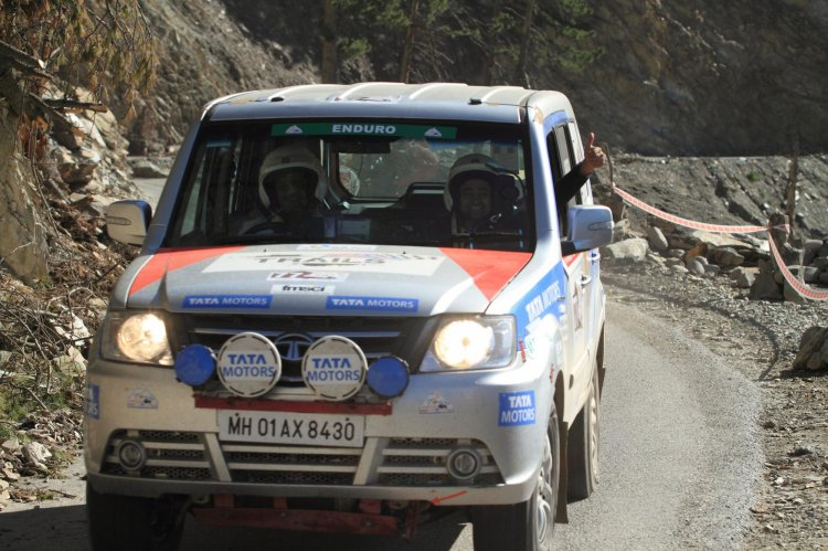 Modified Tata Sumo Grande Rally Spec Front Images
