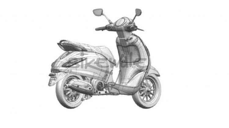 Bajaj Urbanite Electric Scooter Rear Right Quarter