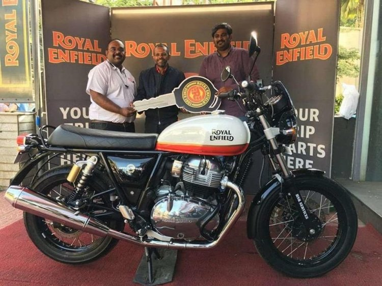 Royal Enfield Interceptor 650 Baker Express Side P