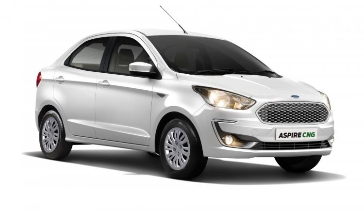 Ford Aspire Cng Front Three Quarters