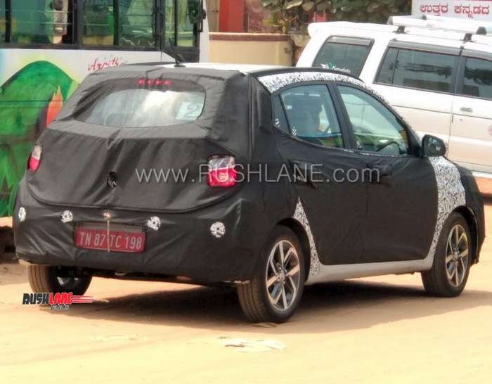 2019 Hyundai Grandd I10 Rear Three Quarters Spy Sh