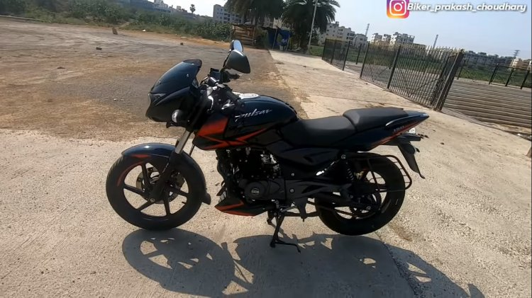 Bajaj Pulsar 150 Twin Disc Abs At Dealership Left