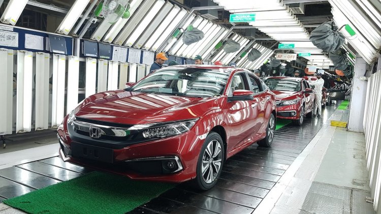 New Honda Civic Production Begins In India